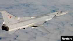 Російський стратегічний бомбардувальник Ту-22М, архівне фото