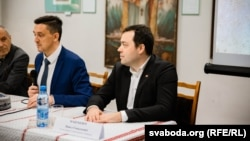 Павел Мацукевіч (справа)