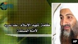 له یوې وېډیو څخه د سامه بن لادن اخیستل شوی عکس