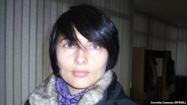 Gay rights activist Angela Frolov