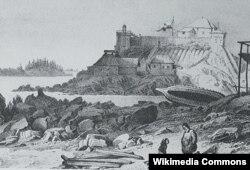 Rus qalası, Köhnə Sitka, 1827.