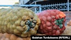 Душанбе бозорларида картошканинг бир килоси 8-10 сомонийдан сотилмоқда.