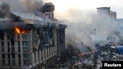 Киевдеги тополоң, 19-февраль, 2014