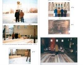 E.Abdullayev məktuba adıçəkilən generalla Mahir Abdullayevin bir sıra fotolarını əlavə edib.