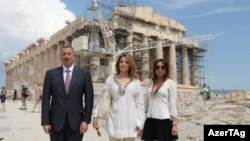 Prezident İlham Əliyev və xanımı Yunanıstanda, 15 iyun 2014