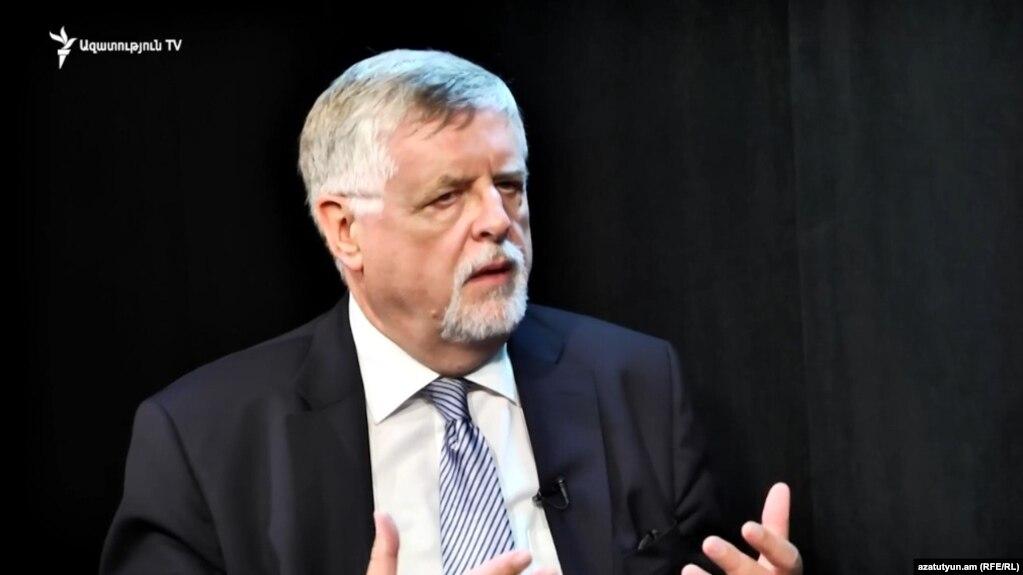 Herbert Salber, the EU special representative for the South Caucasus