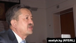 Касымбек Мамбетов, саламаттык сактоо министринин орун басары.