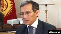 Қырғызстанның отставкаға кетуге өтініш білдірген премьер-министрі Жоомарт Оторбаев.