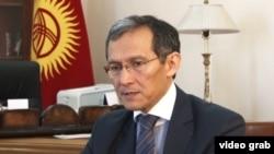 Kyrgyz Prime Minister Joomart Otorbaev