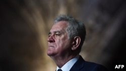 Recent comments by Serbian President Tomislav Nikolic have not helped soothe the volatile atmosphere in the Balkans (file photo).