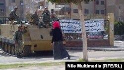 مشهد من احد شوارع بورسعيد