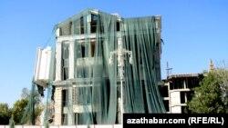 Aşgabatda gözellik salony sökülýär