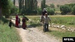 Зардалы айылы. Баткен, 24-июль, 2009