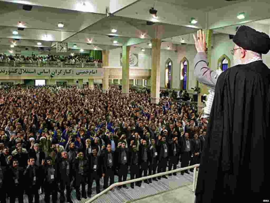 Духоўны лідэр Аятала Алі Хамэнэі