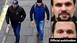 Подозреваемые в отравлении Скрипалей «туристы из России», которые называют себя «Александр Петров» и «Руслан Боширов»