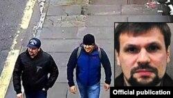 Подозреваемые в покушении на Скрипалей Александр Петров и Руслан Боширов.