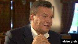 Украинаның бұрынғы президенті Виктор Янукович.