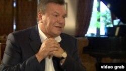 Виктор Янукович в июне 2015 года