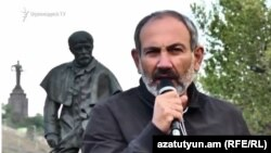 Никол Пашинян, Ереван, 15 апреля 2018 г.