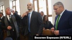 Веселин Калановски, Борислав Игнатов и Методи Лалов от ДБ