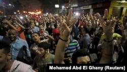 Antivladini protesti u Kairu, 21. septembar 2019.