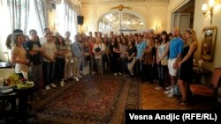 Odabrani studenti pre puta u EU