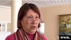 Зайнап Тамаева, жена пострадавшего гражданина Жумабая Тамаева. Уральск, 26 февраля 2010 года.