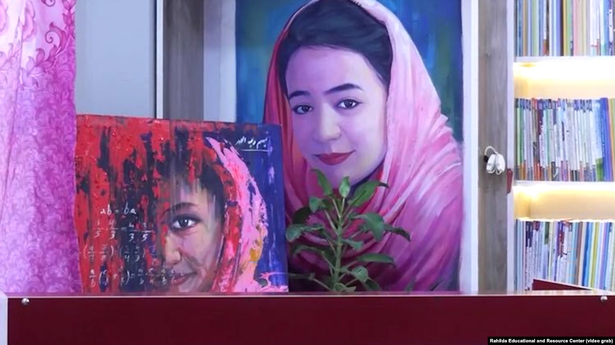 'Education Is The Only Solution': Afghan Library Honors Slain Schoolgirl