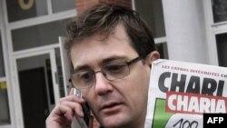 Charlie Hebdo neşiriniň öldürilen karrikaturaçysy - Stephane Şarbonnier.