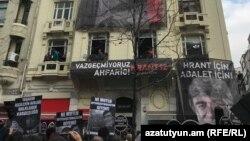 Թուրքիա - Ստամբուլում ոգեկոչում են Հրանտ Դինքի հիշատակը, 19-ը հունվարի, 2019թ․