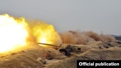Military exercises in Azerbaijan