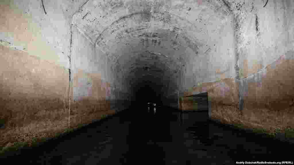 """""""Сталин метросының"""" аяқталмаған тоннелінің бүгінгі көрінісі."""