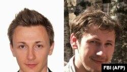 Максим Якубец (слева) и Игорь Турашев, обвиняемые в США в похищении десятков миллионов долларов
