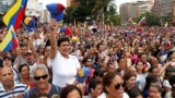 Венесуэла протестует против Мадуро и поддерживает Гуайдо