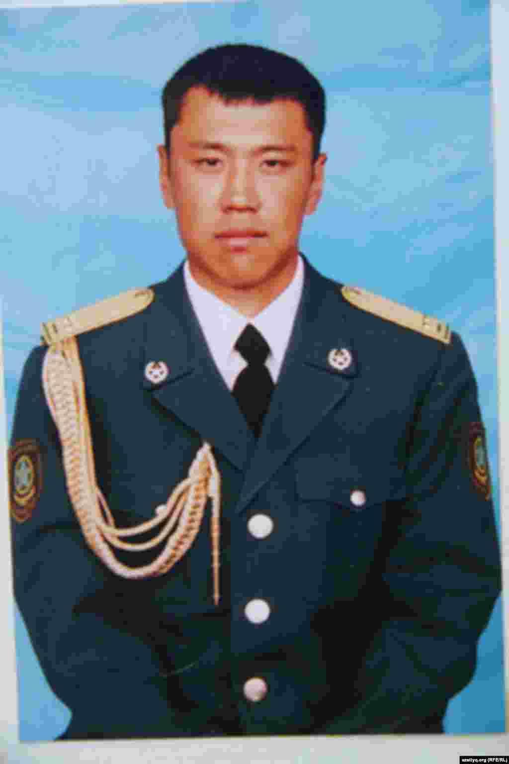 Алтынбек Кереев, солдат пограничной службы «Шыгыс», Казахстан.