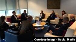 Dialogu në Bruksel, foto arkiv
