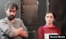 """Əsgər Fərhadinin """"Satıcı"""" filmindən bir kadr."""