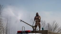 مانور «مهار کرونا» توسط ارتش ایران