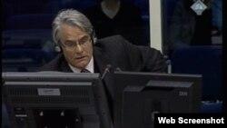 Rupert Smith svjedoči na suđenju Ratku Mladiću, 28. siječanj 2013.