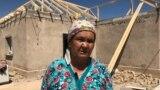 Жөнделіп жатқан үйдің бірі. Түркістан облысы Арыс қаласы. 15 шілде, 2019 жыл