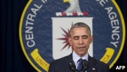 ԱՄՆ - Նախագահ Բարաք Օբաման ելույթ է ունենում Կենտրոնական հետախուզական վարչության կենտրոնակայանում, Լենգլի, Վիրջինիա նահանգ, 13-ը ապրիլի, 2016թ․