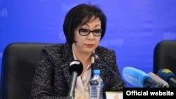 Қазақстанның бұрынғы денсаулық сақтау министрі Салидат Қайырбекова.