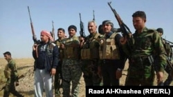 Iraqi fighters who liberated west Anbar from Islamic State gunmen in late December
