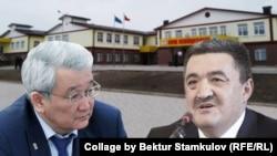 Кубанычбек Кулматов менен Албек Ибраимов.