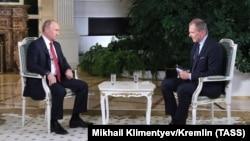 Владимир Путин и Армин Вольф