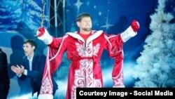 Рамзан Кадыров любит Новый год