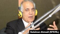 زلمی خلیل زاد سفیر پیشین امریکا در افغانستان
