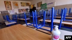 Prazna školska učionica, ilustrativna fotografija