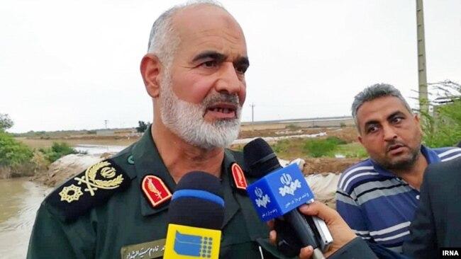 سرتیپ احمد خادم، فرمانده قرارگاه منطقهای کربلا