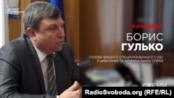 Голова Вищого спеціалізованого суду з цивільних та кримінальних справ Борис Гулько, кандидат до Верховного суду